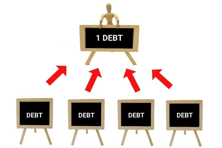 Consolidate your small debts