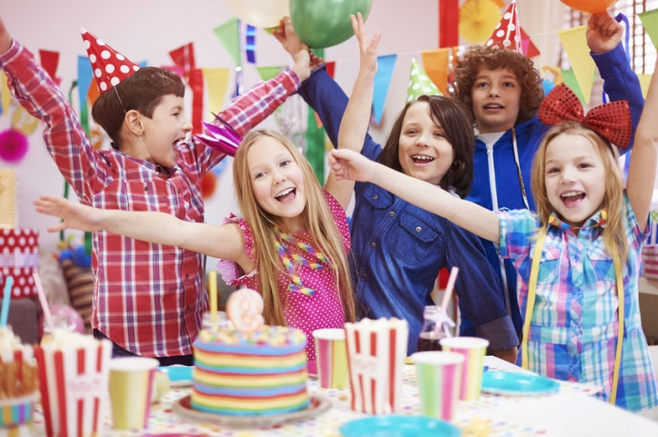 Awesome kid's birthday party